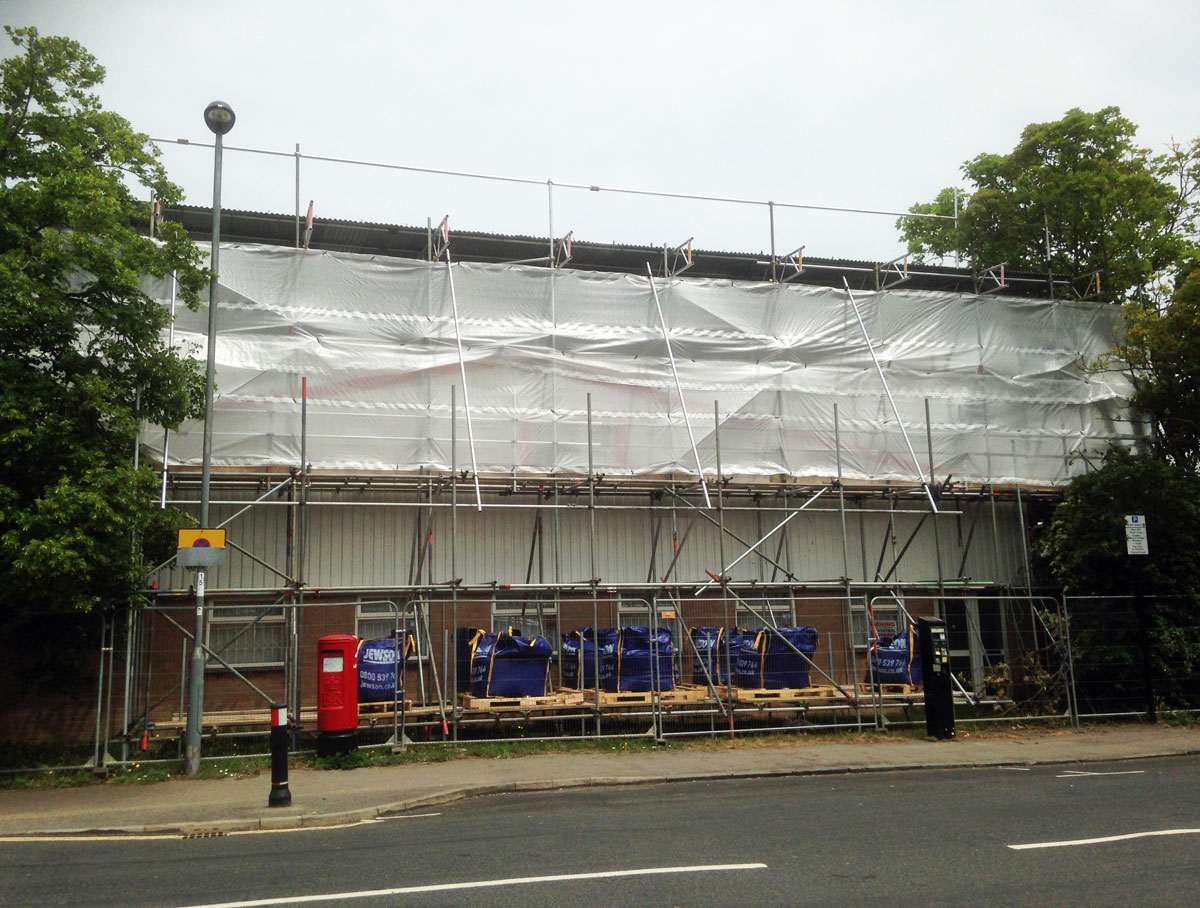 Scaffolding New Forest
